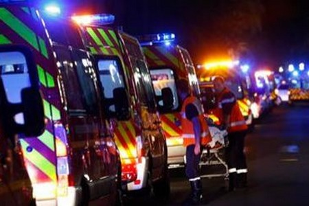 image : Vue attentat de Nice 14 Juillet 2016 - Photo Maxppp