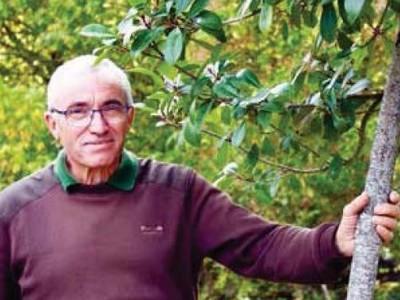image : Alain Gaüzère, responsable des espaces verts du centre-ville Mont de Marsan